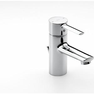 Смеситель для раковины Roca Targa с донным клапаном, хром (A5A3060C0M) смеситель для раковины roca monodin с донным клапаном 5a3007c00