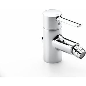 Смеситель для биде Roca Targa с донным клапаном, хром (A5A6060C0M) смеситель для раковины roca monodin с донным клапаном 5a3007c00
