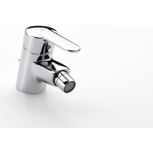 Смеситель для биде Roca Victoria с донным клапаном, хром (A5A6N25C0M)