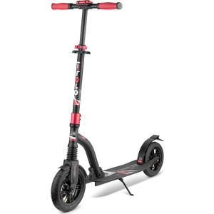 цена Самокат 2 х колесный Trolo LUX Quantum Air Черный 141625 в интернет-магазинах