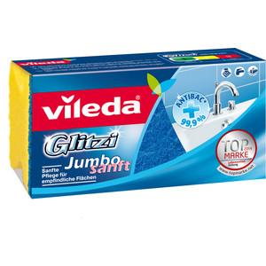 Губка VILEDA Glitzi Jambo (Глитци Джамбо) для ванной комнаты