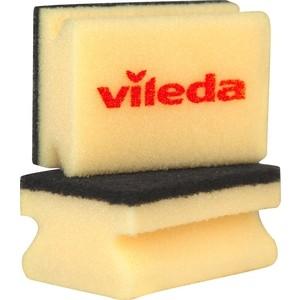Губка VILEDA Glitzi (Глитци) для кастрюль 2 шт губка vileda для стеклокерамики 2 шт