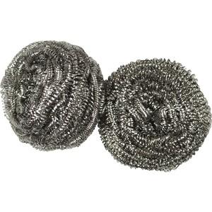 Губка VILEDA Inox (Инокс) из металлической спирали 2 шт губка vileda для стеклокерамики 2 шт