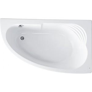 Акриловая ванна Roca Merida 170x100 каркас, асимметричная правая белая (ZRU9302993, ZRU9302994)