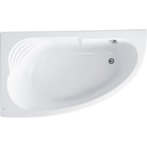 Акриловая ванна Roca Merida 170x100 каркас, асимметричная левая белая (ZRU9302992, ZRU9302994)