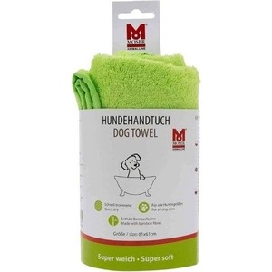 Полотенце Moser зеленое для собак
