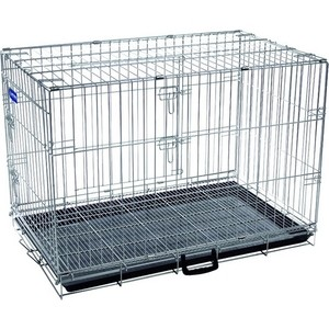 Клетка ARTERO №4 металлическая с фальшдном 92х63х74см для собак