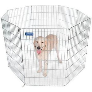 все цены на Вольер ARTERO Металлический 60х60см 8 секций для собак онлайн