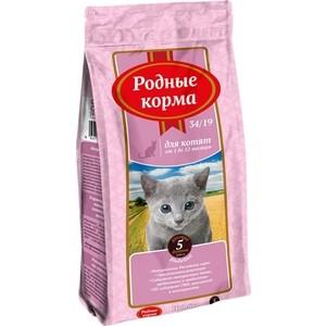Сухой корм Родные Корма Индейка 34/19 для котят 5 русских фунтов 2,045кг