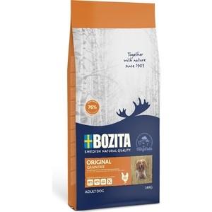 Сухой корм BOZITA Grain Free Original with Chicken 26/16 беззерновой с курицей для взрослых собак 14кг (13024)