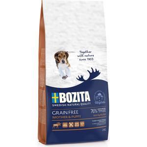 цена на Сухой корм BOZITA Grain Free Mother & Puppy with Elk 30/16 беззерновой с мясом лося для щенков, беременных и кормящих сук всех пород 2кг (40423)