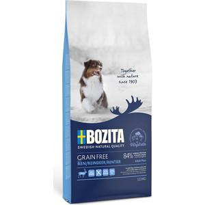 Сухой корм BOZITA Grain Free Adult Plus with Reindeer 30/20 беззерновой с мясом оленя для взрослых собак 12,5кг (40742)