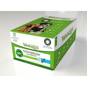 Лакомство Whimzees Toothbrush Star S Bulk In Display Box Зубная щетка для собак 9см 150шт в коробке (WHZ242ROW)