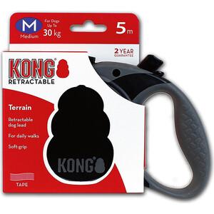 Рулетка KONG Terrain M лента 5м черная для собак до 30кг цена в Москве и Питере