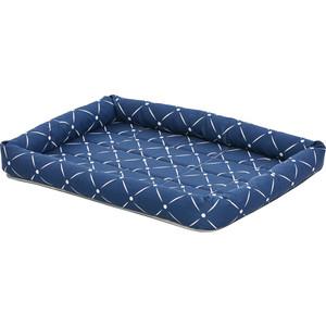 Лежанка Midwest Ashton 61х46см синяя для собак
