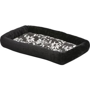 Лежанка Midwest Sofia плюш 56х33см черная для собак