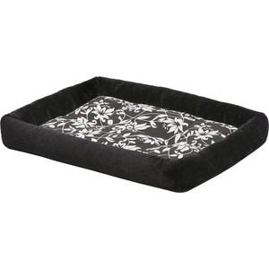 Лежанка Midwest Sofia плюш 61х46см черная для собак