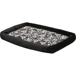 Лежанка Midwest Sofia плюш 91х58см черная для собак
