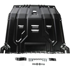 Защита картера и КПП Rival для Hyundai Santa Fe (2018-н.в.) / Tucson (2015-н.в.) / Kia Sportage IV / Sorento Prime III (2015-н.в.), сталь 2 мм, 111.2375.1 цены онлайн