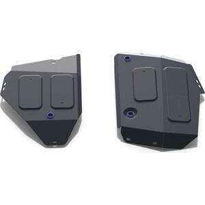 Защита топливного бака Rival для Jeep Compass II 4WD (2018-н.в.), сталь 2 мм, 111.2742.1
