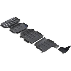 Защита радиатора, картера, КПП и РК Rival для Mercedes-Benz X-Class 4WD (2018-н.в.), сталь 3 мм, K222.3942.1