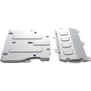 Защита картера и КПП Rival для Audi Q5 II АКПП (2017-н.в.), алюминий 4 мм, K333.0351.1
