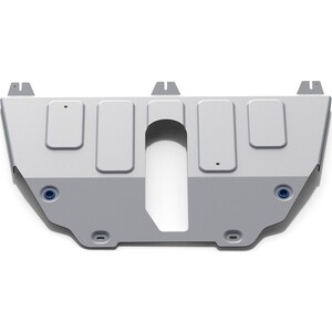 Защита картера и КПП Rival для Jeep Compass II 4WD (2018-н.в.) / Renegade I (2014-2018 2018-н.в.), алюминий 4 мм, 333.2743.1
