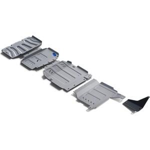 Защита радиатора, картера, КПП и РК Rival для Mercedes-Benz X-Class 4WD (2018-н.в.), алюминий 4 мм, K333.3942.1 защита картера rival для mercedes s class rwd 2013 н в алюминий 4 мм 333 3912 1