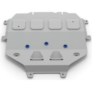 Защита КПП Rival для Volkswagen Touareg III (включая пакеты Движение по бездорожью, Подвеска Pro) (2018-н.в.), алюминий 4 мм, 333.5871.1