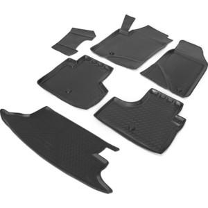 Комплект ковриков салона и багажника Rival для Chevrolet Niva I рестайлинг 5-дв. (2009-н.в.), полиуретан, K11004002-1