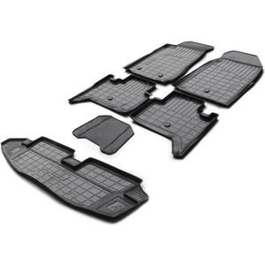 Комплект ковриков салона и багажника Rival для Chevrolet Trailblazer II 5-дв. (7 мест) (2012-н.в.), полиуретан, K11008003-1