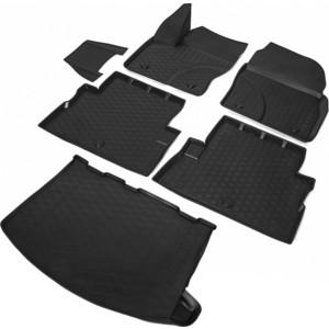 Комплект ковриков салона и багажника Rival для Ford Kuga II 5-дв. (2012-2017 / 2017-н.в.), полиуретан, K11804002-1