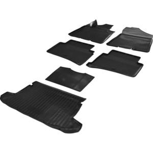 Комплект ковриков салона и багажника Rival для Hyundai Tucson III 5-дв. (2015-2018 / 2018-н.в.), полиуретан, без крепежа, K12309002-1