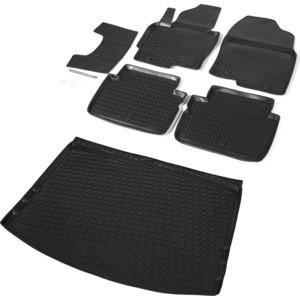 Комплект ковриков салона и багажника Rival для Mazda CX-5 I 5-дв. (2011-2017), полиуретан, K13803001-3