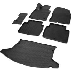 Комплект ковриков салона и багажника Rival для Mazda CX-5 II 5-дв. (2017-н.в.), полиуретан, K13803004-5