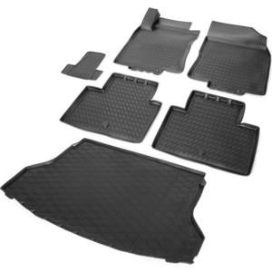 Комплект ковриков салона и багажника Rival для Nissan X-Trail T32 5-дв. (2014-2018 / 2018-н.в.), полиуретан, без крепежа, K14109001-3