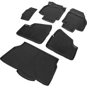 Комплект ковриков салона и багажника Rival для Opel Astra H хэтчбек 5-дв. (2004-2012), полиуретан, K14202003-1