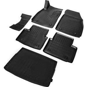 Комплект ковриков салона и багажника Rival для Opel Insignia I седан (багажник с органайзером) (2008-2017), полиуретан, K14204002-1