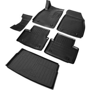 Комплект ковриков салона и багажника Rival для Opel Insignia I универсал (2008-2017), полиуретан, K14204004-1