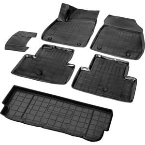 Комплект ковриков салона и багажника Rival для Opel Zafira Tourer C (5 мест) (2011-2016), полиуретан, K14207006-2