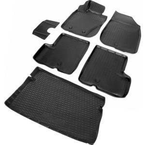 Комплект ковриков салона и багажника Rival для Renault Duster 5-дв. (4WD) (2010-2015), полиуретан, K14701006-5