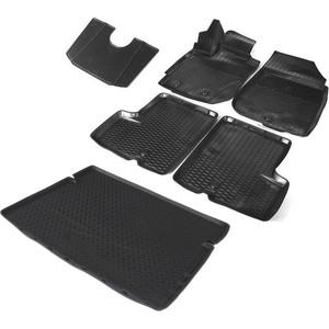 Комплект ковриков салона и багажника Rival для Renault Duster I рестайлинг 5-дв. (4WD) (2015-н.в.), полиуретан, K14701007-6