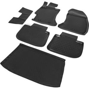 Комплект ковриков салона и багажника Rival для Subaru XV I 5-дв. (2011-2017), полиуретан, K15402002-1