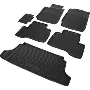 Комплект ковриков салона и багажника Rival для Suzuki Grand Vitara III рестайлинг 5-дв. (2012-2015), полиуретан, K15501002-1
