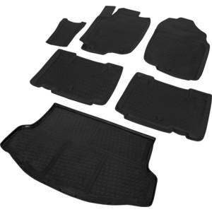 Комплект ковриков салона и багажника Rival для Toyota Rav4 CA40 (с докаткой) (2012-2019), полиуретан, K15706002-1