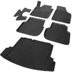 Комплект ковриков салона и багажника Rival для Volkswagen Jetta VI (2010-2015 / 2015-н.в.), полиуретан, K15802001-2