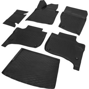 Комплект ковриков салона и багажника Rival для Volkswagen Touareg II рестайлинг 5-дв. (2014-2018), полиуретан, K15808001-2