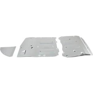 Защита радиатора, картера, КПП и РК Rival для BMW X5 G05 (30d 40i M50d) (2018-н.в.) / X7 G07 (2019-н.в.), алюминий 4 мм, K333.0533.1