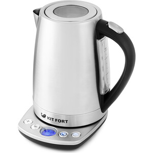 Чайник электрический KITFORT KT-645 чайник электрический kitfort kt 609 серебристый черный