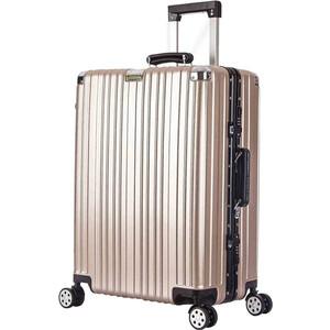 Чемодан LCASE Dubai champangne УХ-909 24 (M)-30.5*49.5*68